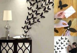 cara membuat hiasan dinding kamar buatan sendiri 3 | HamilPlus.Com 2021