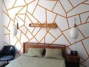 cara membuat hiasan dinding kamar buatan sendiri tape selotip | HamilPlus.Com 2021