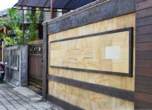 pagar rumah minimalis dengan batu alam 8