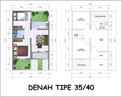 rumah minimalis 1 lantai 3 kamar tidur 12 | HamilPlus.Com 2021