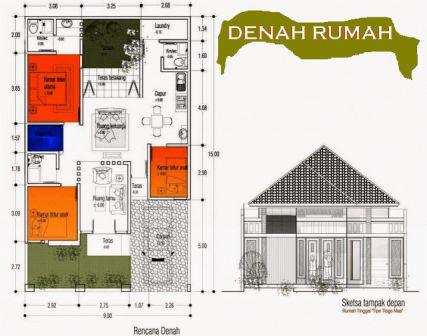 rumah minimalis 1 lantai 3 kamar tidur 15 | HamilPlus.Com 2021