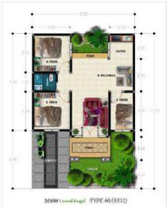 rumah minimalis 1 lantai 3 kamar tidur 18 | HamilPlus.Com 2021