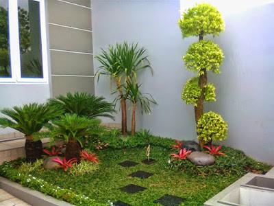 Taman Minimalis Depan Rumah Bisa Dikerjakan Sendiri