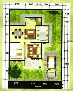 Denah Rumah Minimalis Type 45 11 | HamilPlus.Com 2021