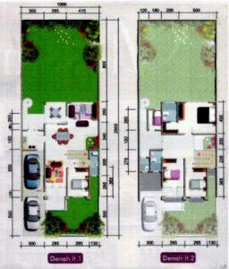 Denah Rumah Minimalis Type 45 15 | HamilPlus.Com 2021