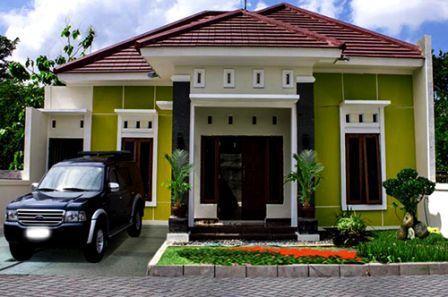 warna cat rumah bagian luar yang bagus 6 kombinasi 3 warna