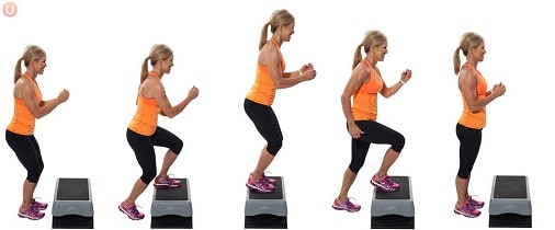 Cara Menghilangkan Lemak di Perut dan Pinggang step up