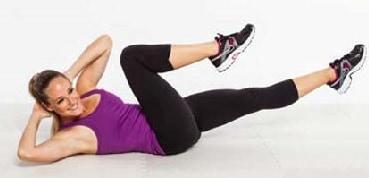 Cara Menghilangkan Lemak di Perut dan Pinggang waist crunches