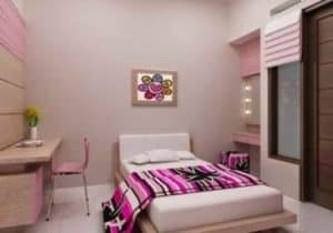 desain kamar tidur perempuan dewasa 2