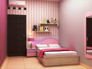 desain kamar tidur perempuan dewasa