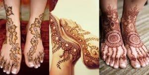 henna kaki simple dan mudah, henna kaki pengantin