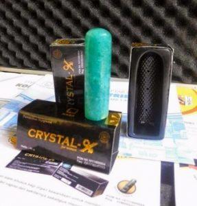 efek samping Crystal X dampak