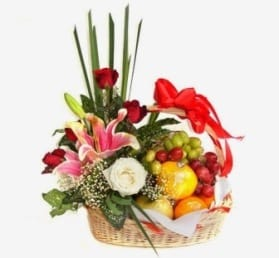 hantaran buah (buah untuk lamaran, cara menghias, parcel buah sederhana)