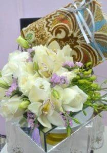 hantaran fresh flower hantaran bunga segar