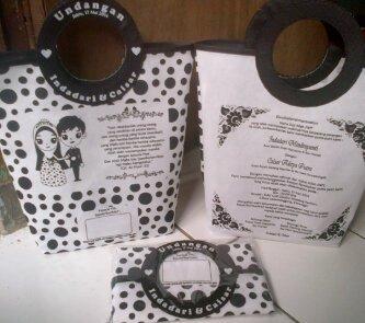 undangan pernikahan unik dan bermanfaat tas