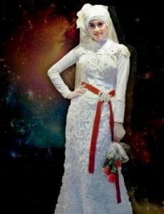 Kebaya Anne Avantie Hijab