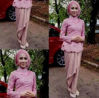 Kebaya Dress Brokat Muslimah