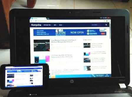 Cara Menjadikan Android sebagai Monitor Kedua dari PC Leptop Cara Menjadikan Android sebagai Monitor Kedua dari PC Leptop Cara Menjadikan Android sebagai Monitor Kedua dari PC Leptop