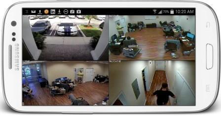 Cara Menjadikan Hp Android Sebagai CCTV android hp