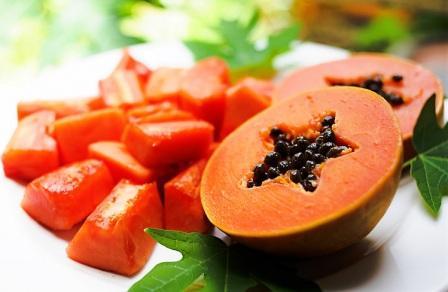 efek samping buah pepaya v