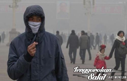 Hindari lingkungan yang penuh polusi udara
