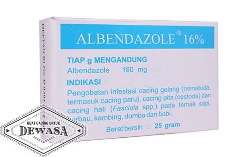 Obat Cacing Albendazole