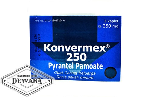 Obat Cacing Konvermex