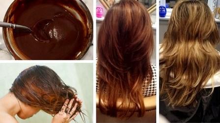 cara mewarnai rambut secara alami