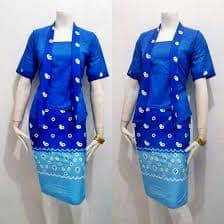Model Baju Kebaya Jumputan 4