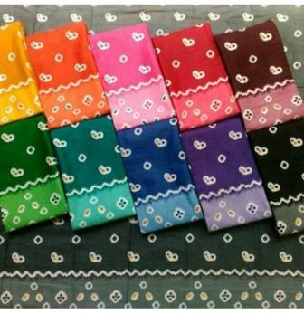 batik jumputan cara membuat motif batik jumputan