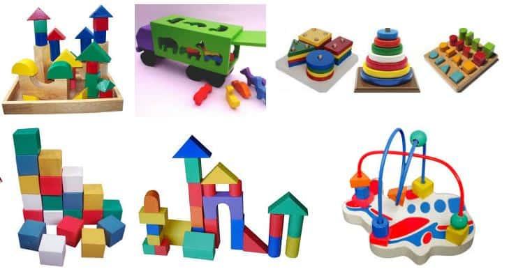 kado ulang tahun anak 1 tahun mainan balok