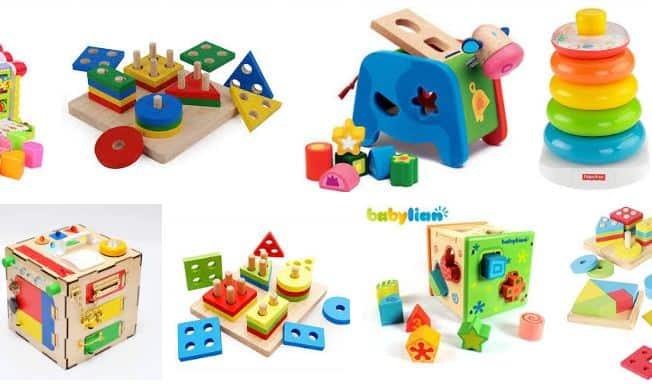 mainan anak umur 1 tahun sorting toys - kado ulang tahun anak 1 tahun