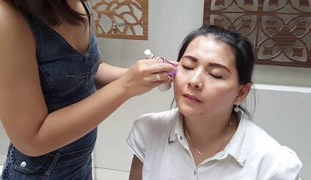 efek samping setrika wajah artis