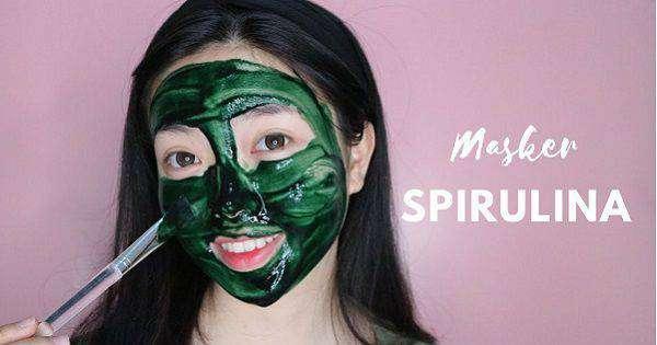 manfaat masker spirulina buat kulit wajah rambut