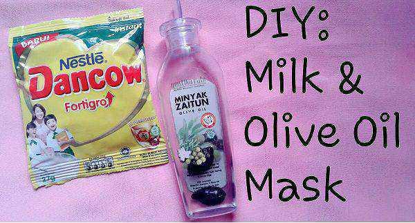 manfaat lulur susu dancow dan minyak zaitun