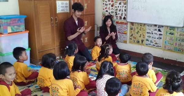Cara Mengajar Anak PAUD Agar Tidak Bosan