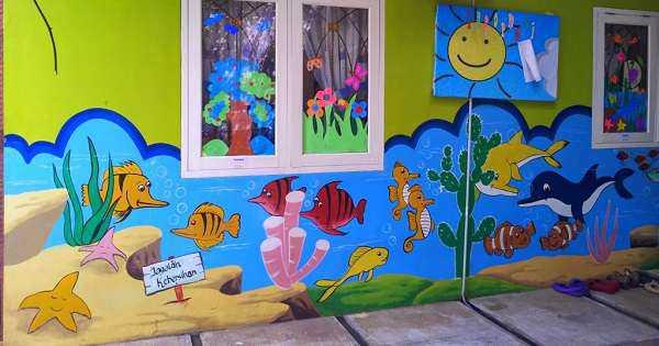 wallpaper dinding kelas SD kelas 1 2 3 4