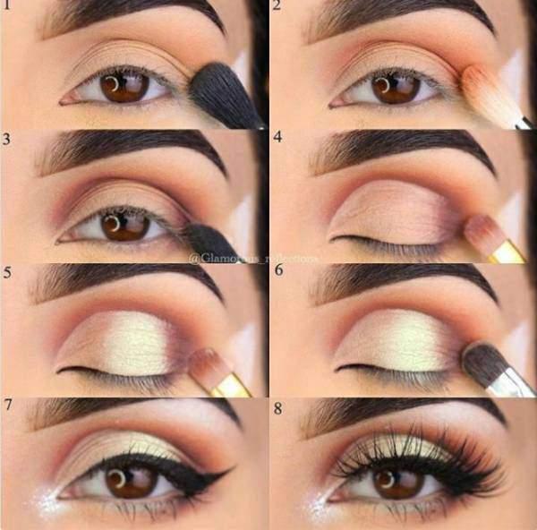 cara menggunakan eyeshadow eyeliner maskara