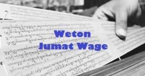 Weton Jumat Wage (Watak, Jodoh, Rejeki, Pekerjaan)