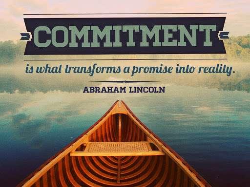 komitmen dengan tujuan hidup cita -cita impian